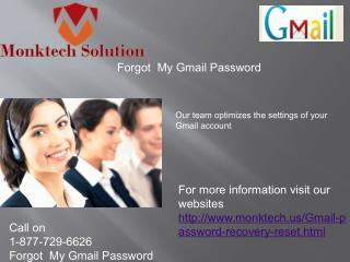 Recover Gmail password call 1-877-729-6626 Remains Working 24 Hours a Day
