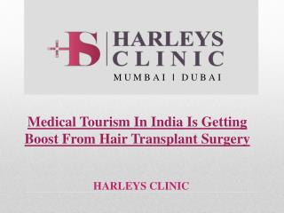 Medical Tourism In India Is Getting Boost From Hair Transplant Surgery