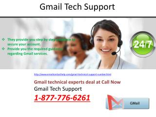 Gmail Support Number @1-877-776-6261 can be accessed from anywhere