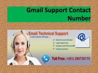 Gmail Support Australia Number 61283206011 For Gmail Account