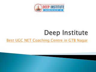 Deep UGC Net