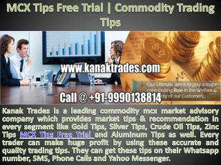 Mcx Sure Call | Crude Oil Tips Free Trial
