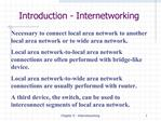 Chapter 9 - Internetworking