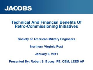 Technical And Financial Benefits Of Retro-Commissioning Initiatives