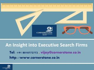 An Insight into Executive Search Firms