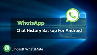 WhatsApp Chat History Backup for Android
