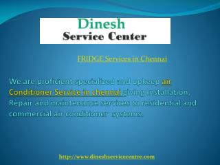 fridge service in Chennai