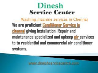 washing machine service in Chennai