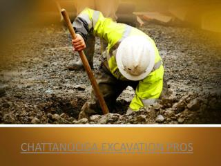 Excavating Companies chattanooga - visit us chattanoogaexcavationpros.com