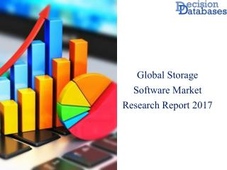 Storage Software Market: Industry Manufacturers Analysis and Forecasts 2017