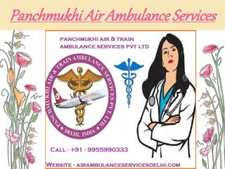 Panchmukhi Air Ambulance Service Patna and Kolkata at low cost