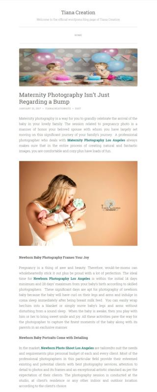 Newborn Baby Portraits Come With Detailing