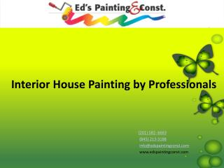 Interior House Painting by Professionals