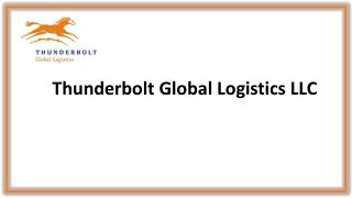 International freight forwarding and transportation