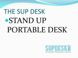 Stand Up Portable Desk