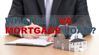 What is a VA Mortgage Loan