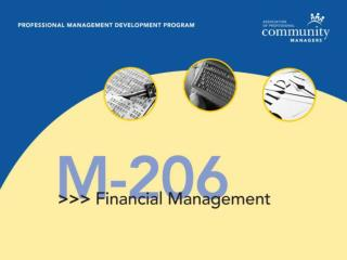 Module 2: Understanding Financial Reporting