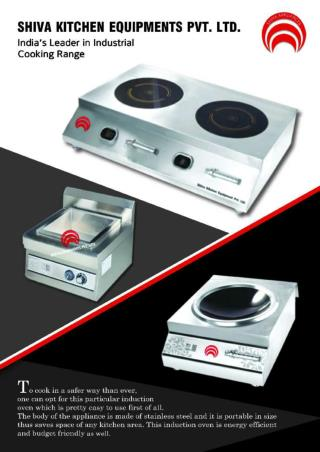 Induction & Commercial Cooking Range