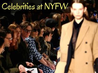 Celebrities at NYFW