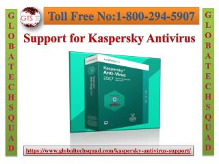 Best kaspersky Antivirus Support at GlobalTech Squad