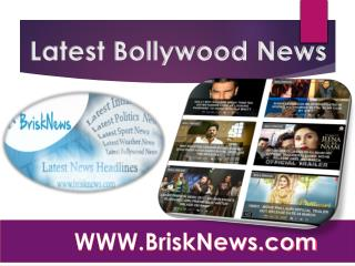 Latest Bollywood News
