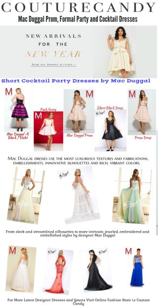 It's ALL About Mac Duggal Dresses and Gowns