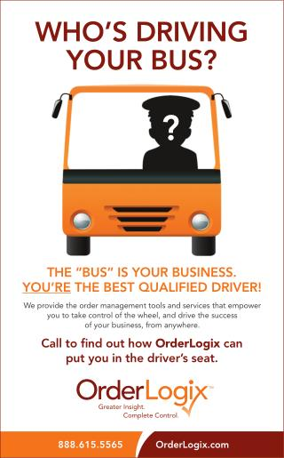 Find out how OrderLogix can put you in the driver's seat.