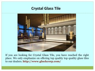 Microcrystal Stone Tile