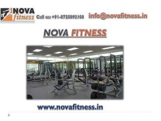 Buy user-friendly gym equipments from Nova Fitness
