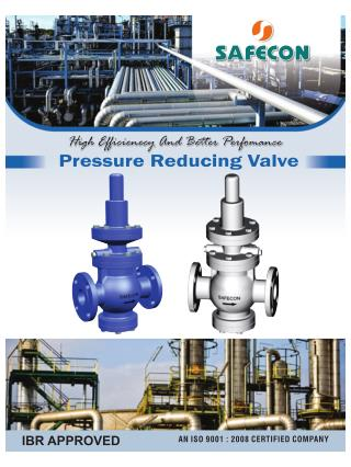 Pressure reducing valve manufacturers