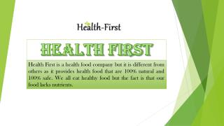 Buy Natural Weight Loss Product Online at Health First