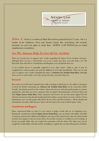 Get The Attorney Help In Case Of Car Accident