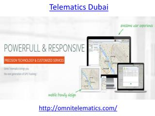 Who is the best telematics provider in Dubai
