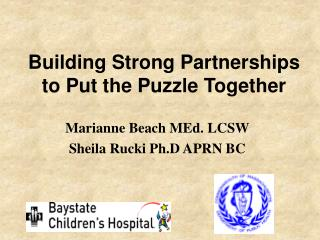 Building Strong Partnerships to Put the Puzzle Together