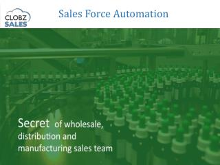 Manage Field Employees - Secret Of Manufacturing Sales Team