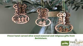 Holy Land Nativity Sets
