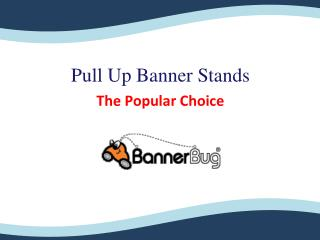 Pull Up Banner Stands - The Popular Choice
