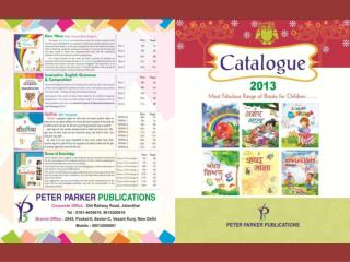 Catalog Designing Graphic Designing