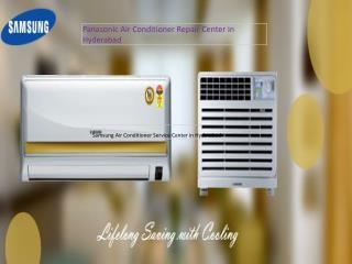 Panasonic Air Conditioner Repair Center in Hyderabad