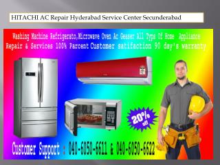 HITACHI AC Repair Hyderabad Service Center Secunderabad