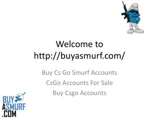 Buy Cs Go Smurf Accounts