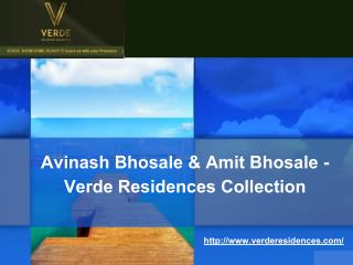 Avinash Bhosale & Amit Bhosale - Verde Residences Collection