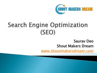 What is SEO and How it Works | SEO Tutorial 2017 | Shout Makers Dream