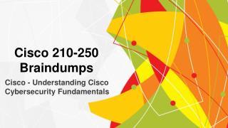 210-250 Braindumps