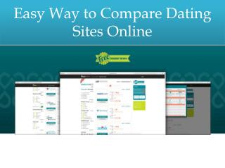 Easy Way to Compare Dating Sites Online