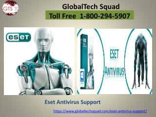 Eset Antivirus Support | Call 1-800-294-5907
