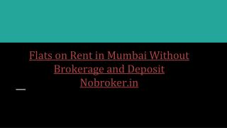 Rented House in Mumbai - Nobroker.in