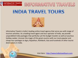 Unique Tours of India