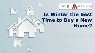 Is Winter the Best Time to Buy a New Home?
