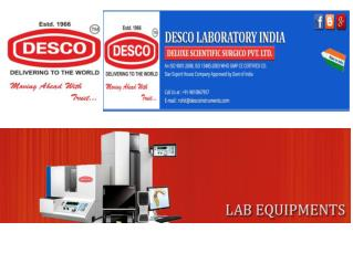 Laboratory Centrifuge Products | DESCO